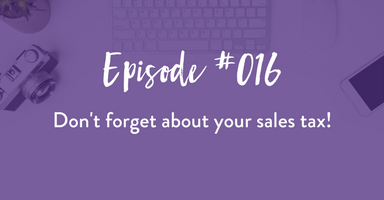 podcast, through the business lens, sales tax